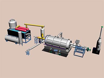 batching Pyrolysis Plant