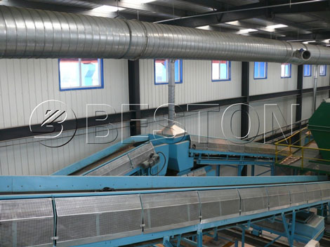 Sealed-belt-conveyor