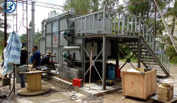 Carbonizing-Machine-Was-Installed-in-Malaysia