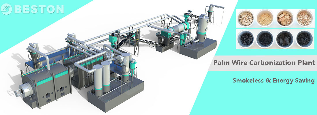 palm-wire-carbonization-equipment