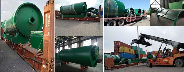 BLJ-10 Pyrolysis Plant Was Exported To Canada