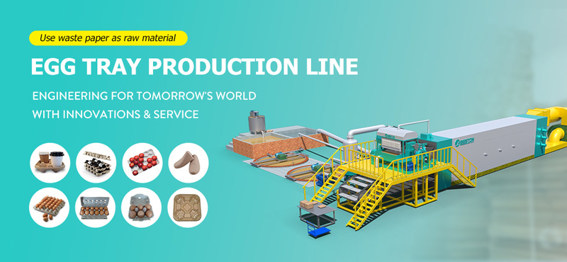 Egg Tray Production Line banner