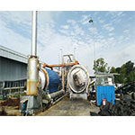BLJ-10 Pyrolysis Plants In Indonesia